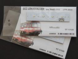 DCC Lokodekodér pre Baafx 010 TT