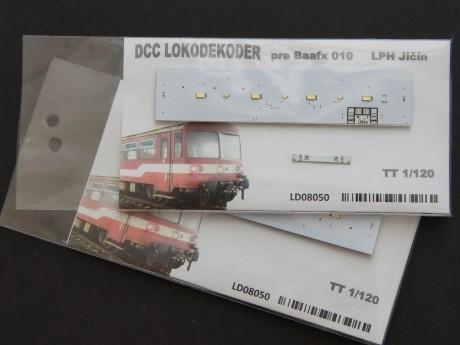 DCC Lokodecoder for Baafx 010 TT