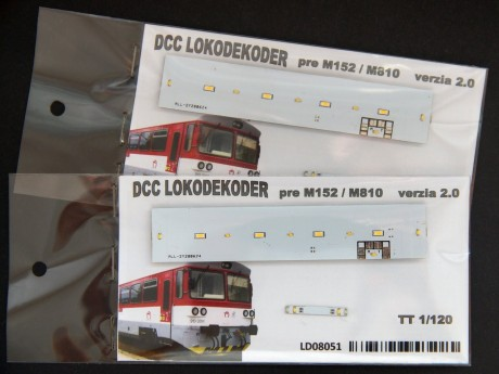 DCC Lokodecoder for M152 / M810 TT