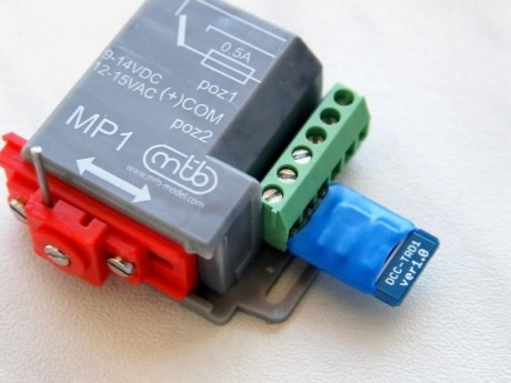 Decoder for MP1 switch motor